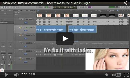 Evaluation – Affinitone commercial for ESPOL sound design